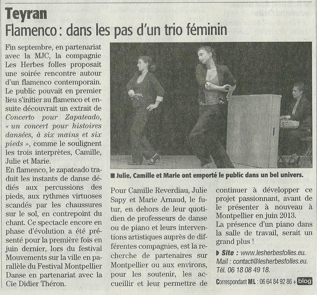 Midi Libre 12-10-2012