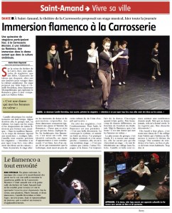 Immersion flamenco à la Carrosserie